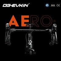 OG EVKIN HB 001 AERO Одна деталь встроенный в Руль 28,6 мм Matt дорога выноса 17 градусов 400/420/440 MM руль