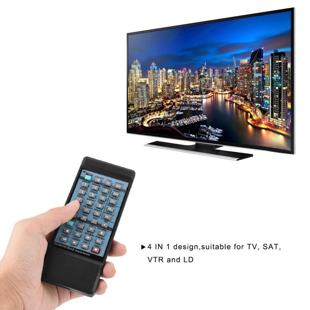 4 IN 1 Multifunctional Remote Control Smart Remote Controller for TV SAT VTR LD