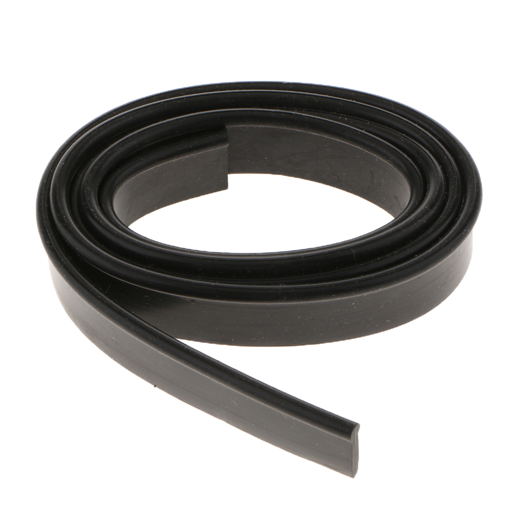 Black Rubber Moulding Trim Rubber Strip Car Door Edge Seal Weather-strip Raspado Tira Raclage De Car Wash/Maintenance