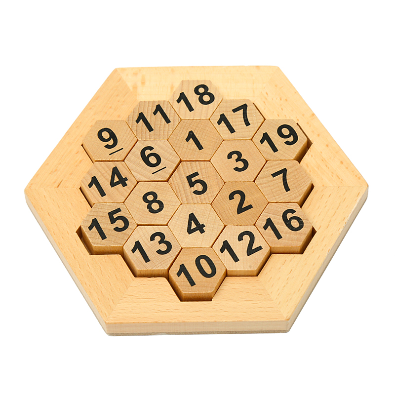 Sudoku Game for Children Wooden Educational Puzzle Toys Early Learning Math Calculation Game Chess Teaching Aids montessori wooden math toys for children boys digital learning education early educational game brinquedos oyuncak