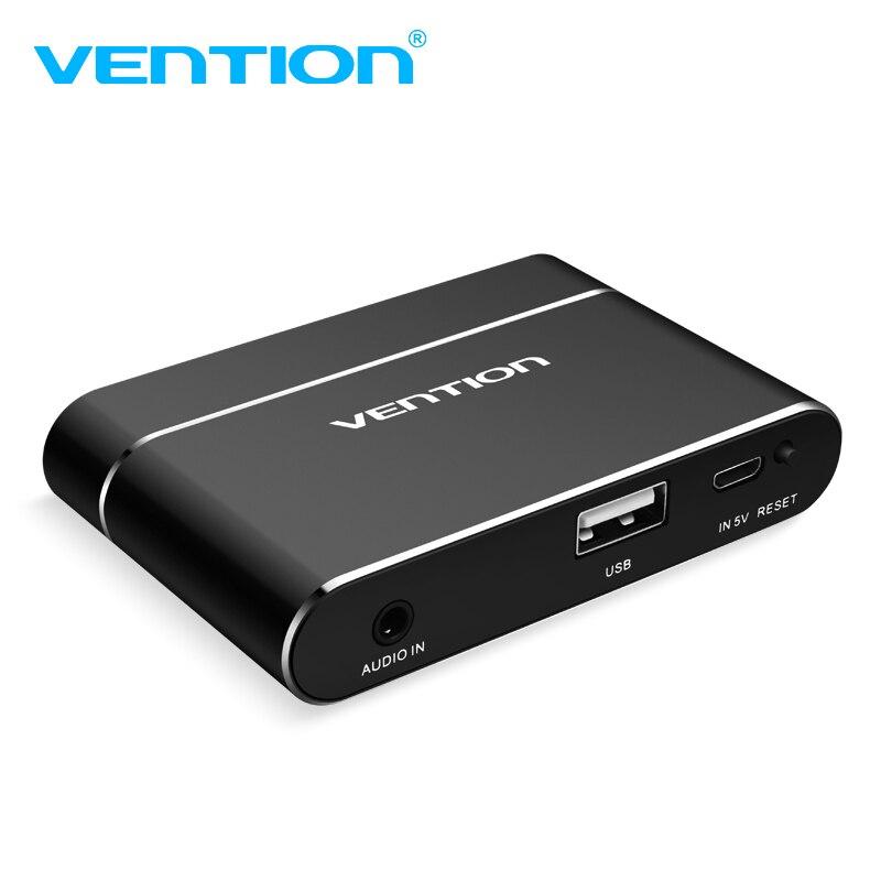 Vention USB 3 in 1 Adapter USB to HDMI VGA Audio Video Converter HD Digital AV Adapter For iPhone HDMI VGA AV Converter For iPad