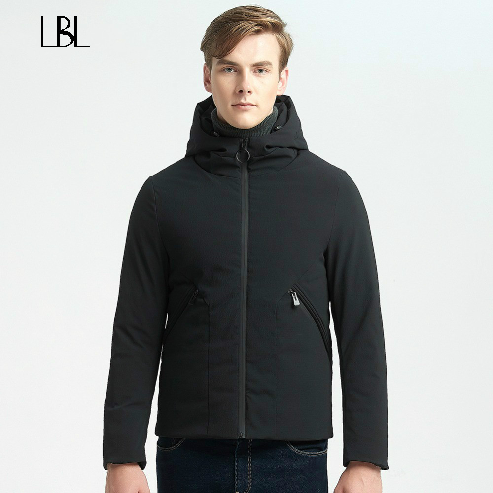 Winter Warm Jacket Men Thick Casual Men Coat For Male Fashion Stand Collar Parka Threaded Cuffs Windproof Warm Snow Down Coat