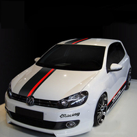 World Datong car styling sport car sticker For Volkswagen Golf 6 7 whole body sport decals auto stickers