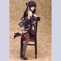 Skytube Japanese Girl 22cm Sexy adult Anime Alphamax Skytube Misaki Kurehito Fuyuki Mari Cheongsam PVC action figure toys gift