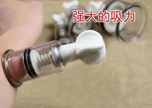 1PC 1 8CM Nipple Clamps Twisters Vacuum Sucker Pump Clitoris Massage Sex Toys For Couples Adult