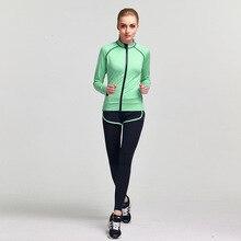 Women's 2 Piece Yoga Gym Suit Outfit Athletes Workout Gear Running Front zipper Top T-shirt Pant Leggings
