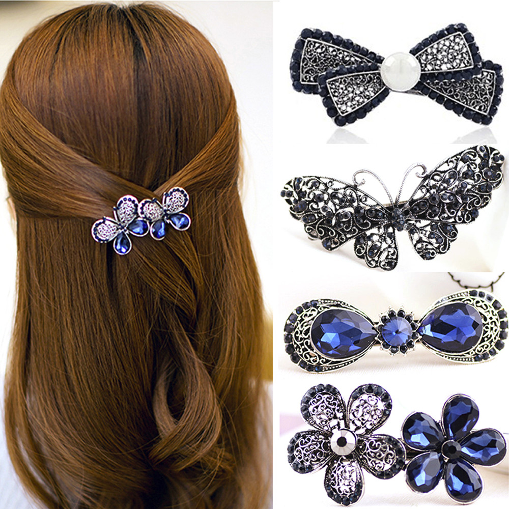 Aliexpress.com : Buy new Classic Gemstone Hairpin Side ...  Real
