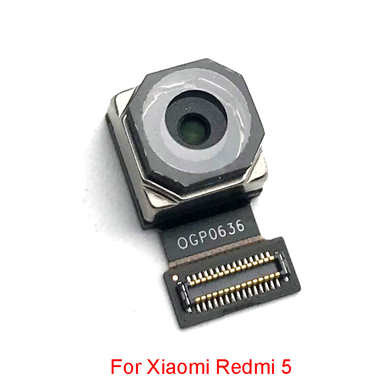 New Tested Back Camera Module For Xiaomi Redmi 5 Rear Camera With Flex Cable Replacement Part