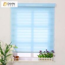 envo libre cortinas opacas cebra persianas persianas de doble capa para la habitacin ventana de tamao