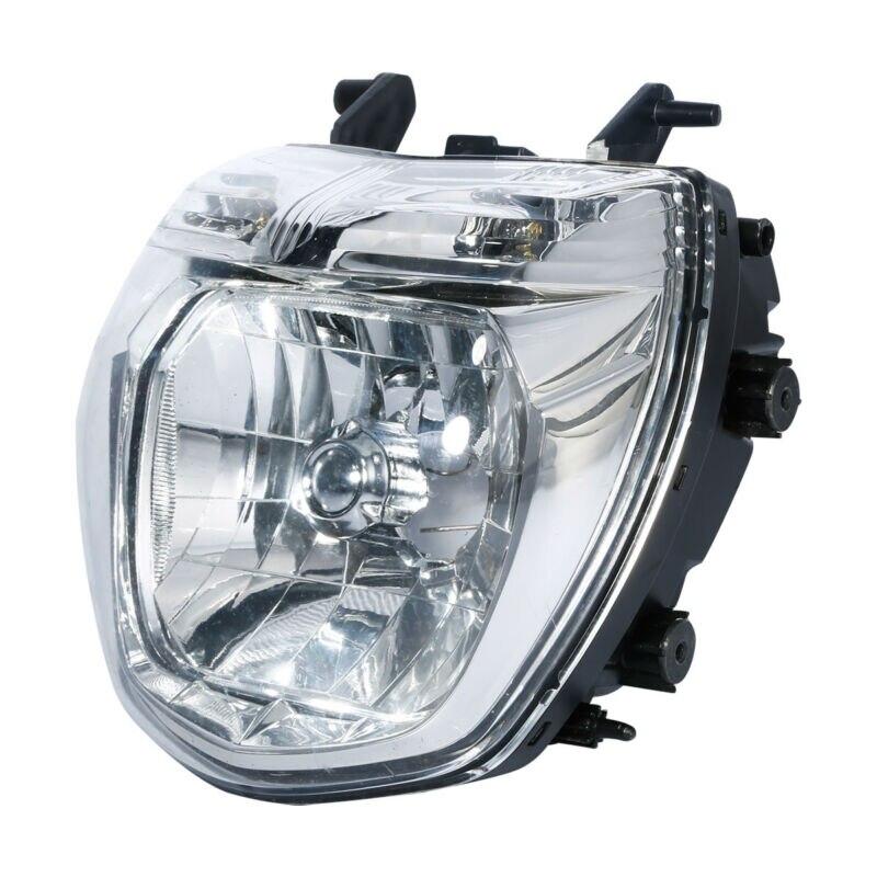 Assemblage de phare avant noir moto pour Suzuki GSR 600 2006-2010 2007 2008Assemblage de phare avant noir moto pour Suzuki GSR 600 2006-2010 2007 2008