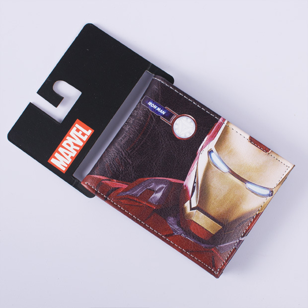 Designer Wallets Famous Brand Men Women Wallet Monederos PVC PU Bag Comics DC Marvel The Revenge Leather Wallet Dollar Price new hot dc comics the flash wallets short leather bifold dollar price for young men and women