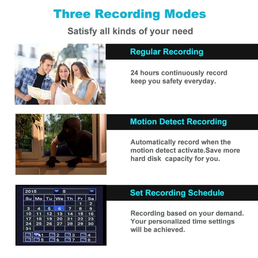 TMEZON 8CH CCTV-System 8PCS 1080P Wetterfeste Überwachungskamera im - Schutz und Sicherheit - Foto 6