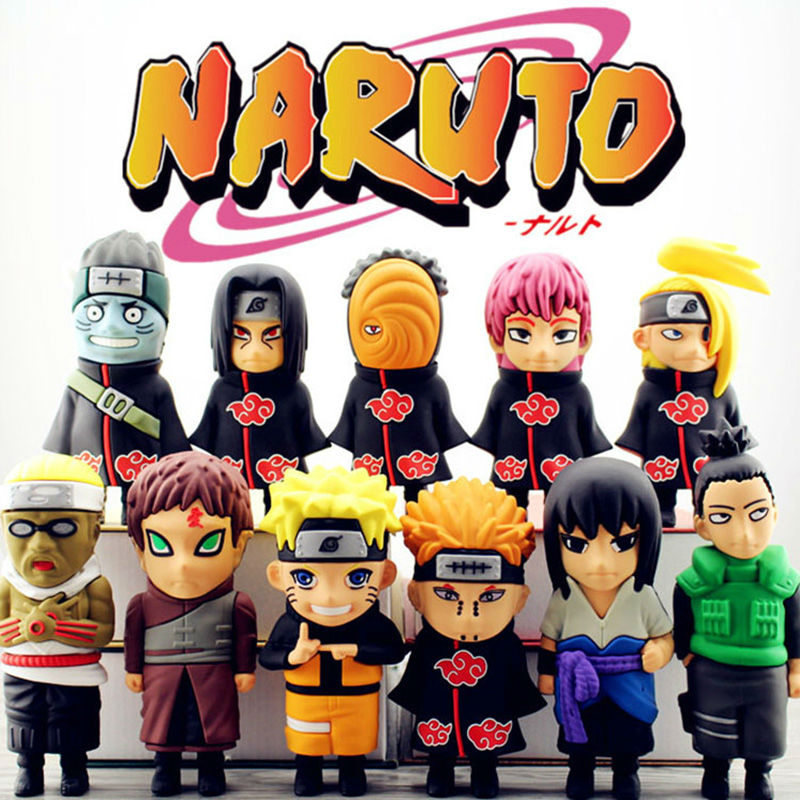 Real 4400 mAh Banco de la Energía Fresca de Dibujos Animados Naruto Uzumaki Sasu