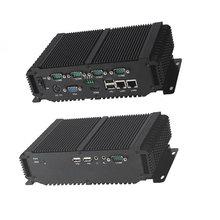 Сетевой безопасности PC X86 с встроенной PCI безвентиляторный брандмауэр компьютер промышленного безопасности межсетевого экрана на платформе VPN D2550 12 В