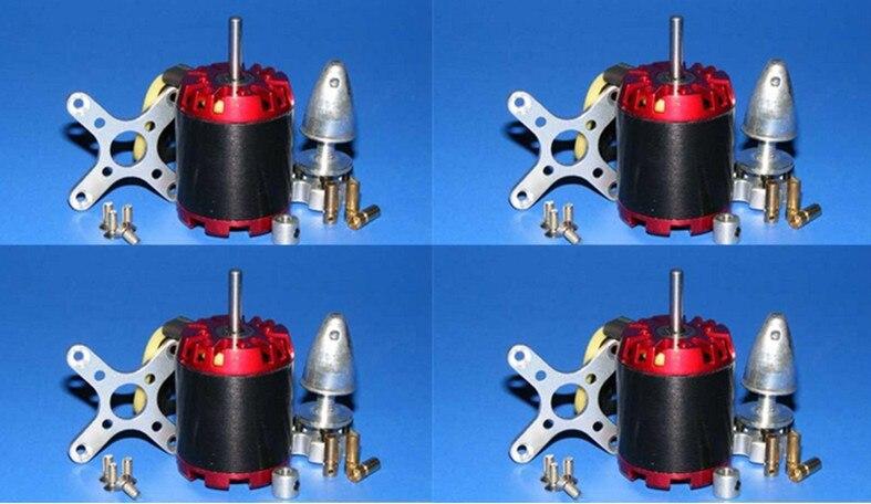Здесь продается  4X EMP N3536/2814 1000KV Motor 470W 4mm for ATG 500 550 600 650 Quad/Hexa-copter  Бытовая электроника