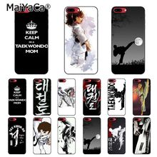 MaiYaCa sport taekwondo  Printing Drawing Phone Case For iphone 11 Pro 11Pro Max 8 7 6 6S Plus 5 5S SE XR X XS MAX