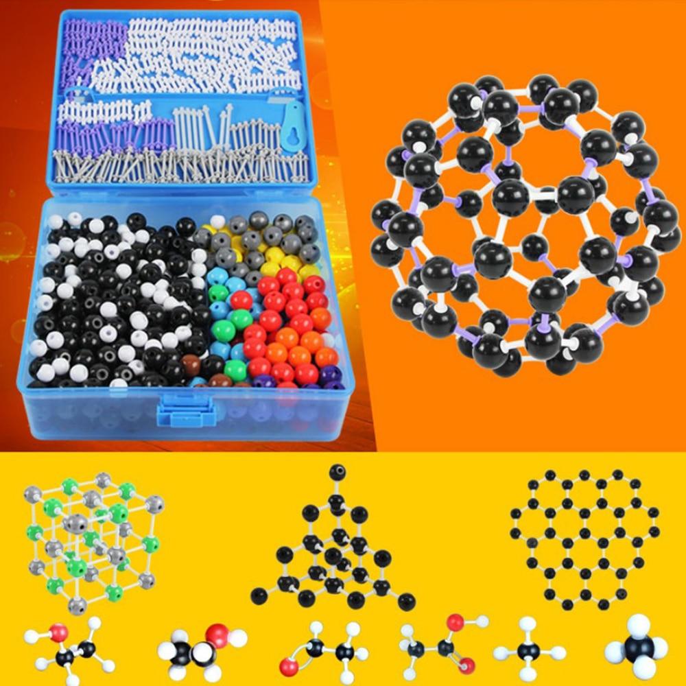 J3111-T 784 pcs/lot Molecular Model Set Kit-General And Organic Chemistry For School Lab Teaching ResearchJ3111-T 784 pcs/lot Molecular Model Set Kit-General And Organic Chemistry For School Lab Teaching Research