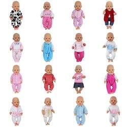 Muñeca trajes de salto de 43cm muñeca bebé muñeca ropa de bebé