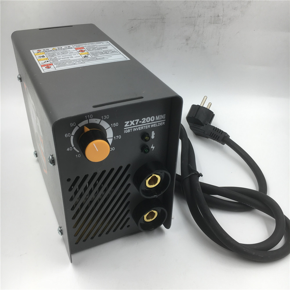 Portable AC 220V Arc Electric Welding Machine Mini MMA Welder for Welding Working and Electric Working DIY with accessory new high quality welding mma welder igbt zx7 200 dc inverter welding machine manual electric welding machine