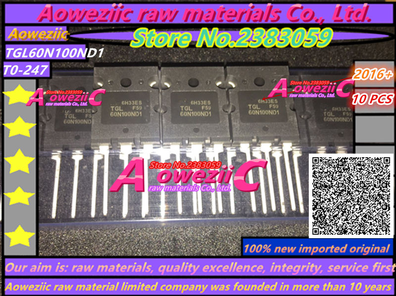 100% Új eredeti TGL60N100ND1 60N100 TO-3P IGBT egycső 60A 1000V - Játékok és tartozékok