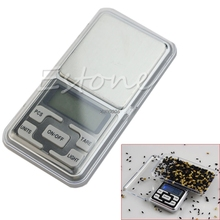 Free Shipping 1PC Pocket 500g x 0.1g Digital Scale Tool Jewelry Gold Balance Weight Gram