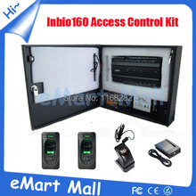 Inbio 260 IP-based panel Fingerprint & Card Door Access Control System Controller with metal box and fingerprint reader