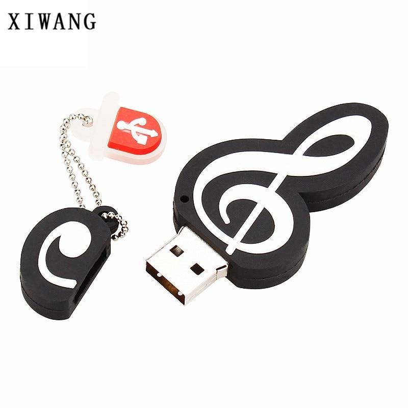 XIWANG instrument series usb high speed pen drive violin USB3.0 4GB 8GB 16GB 32GB 64GB music memory stick U disk holiday gift 1