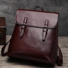 Мешок снова 022217 горячая lady vintage кожа рюкзак женский сумка