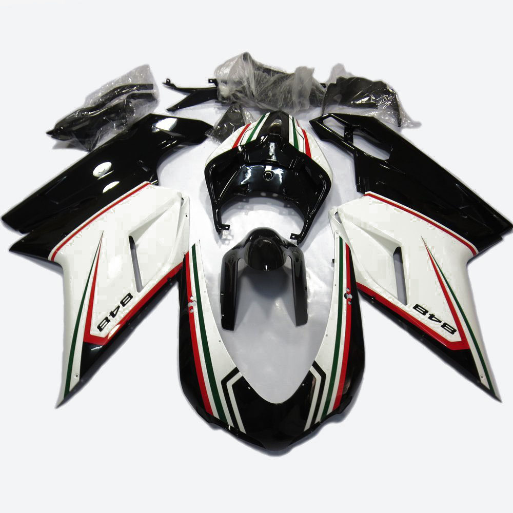 Online Shop Kemimoto For Ducati 848 1098 1198 Motorcycle Fairing Evo Fuse Box 07 12 Bodywork Fairings W Heat Shield Painted Graphic