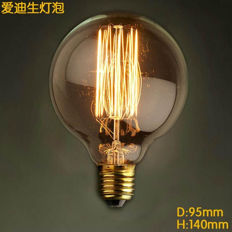 G95 Vintage Loft Retro DIY E27 Spiral Incandescent Light Novelty Fixture LED Edison Bulbs 40W 110-240V Pendant Lamps Lighting винтажная лампа эдисон radio spiral g95 32 нити