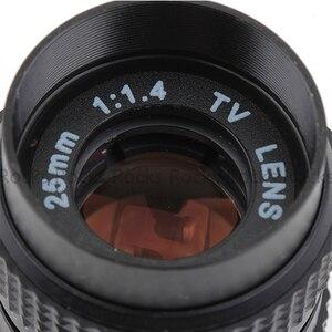 Image 2 - Pixco 25mm F1.4 P/P CCTV soczewka do tv + C mocowanie dla Pentax Q dla Pentax Q S1 Q10 Q7 mft obiektyw