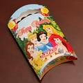 Princesa bonito Do Gato Impressão de papel Kraft Caixa de Doces Saco de Doces Meninas Do Bebê Fontes do Partido de Aniversário 50 pçs/lote DEC118