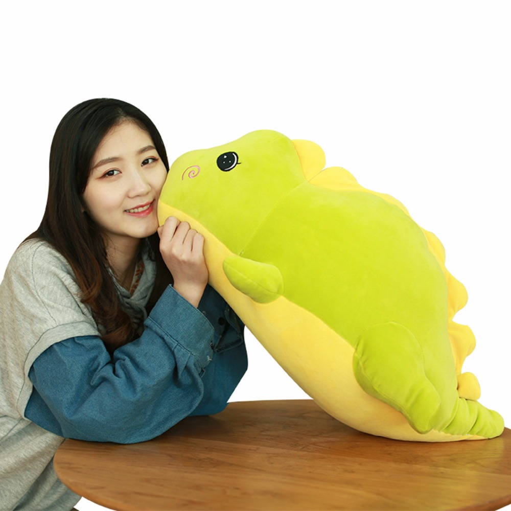 1pc 40cm Cute Staffed Dinosaur Plush Toys Soft Animal Doll for Kids Kawaii Toy Hand Warmer Lovely Christmas Gift for Children