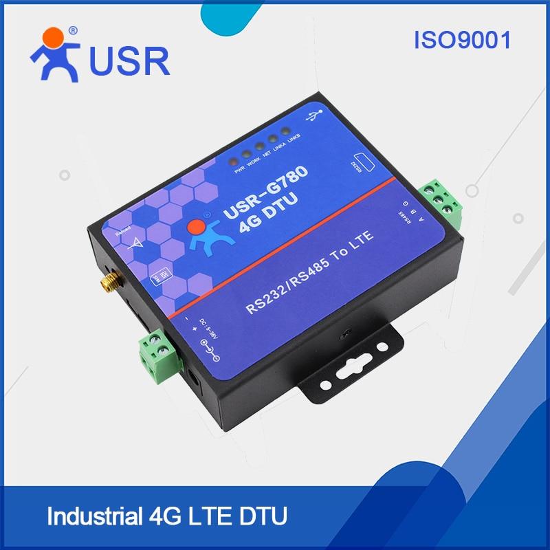 100% Wahr Usr-g780 Freies Verschiffen 4g Dtu Rs232 4g Modems Unterstützung Transparente Übertragung