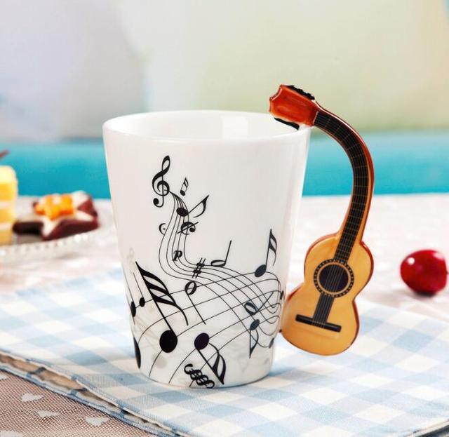 Music Instruments Style Mug