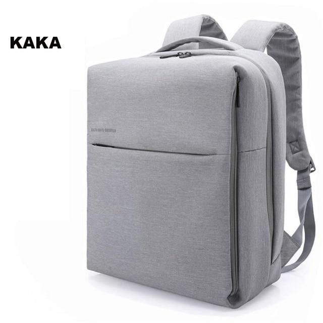 5a368753c350 KAKA Laptop Backpack Men 15.6 Inch Multifunction School Bags Backpacks For Teenagers  Oxford Men Casual Daypacks