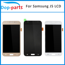 100Pcs For Samsung Galaxy J5 J500 J500F J500FN J500M J500H 2015 LCD Display With Touch Screen Digitizer Assembly Replacement все цены
