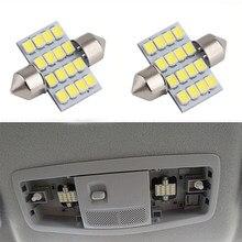 Lampe de lecture dôme blanche à LED, haute luminosité, pour Mitsubishi ASX Outlander 2012 2013 2014 2015, 4 pièces