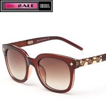 Sunglasses Polarized Lenses for Women Design PC Frame Solar Glasses Can Custom Optical Lenses EXIA OPTICAL KD-9548 Series
