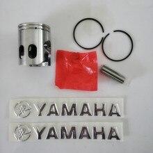 Мотоцикл JOG50 поршневой комплект с поршневым кольцом поршневой штифт для yamaha 50cc JOG 50 скутер части двигателя 40 мм pin10 мм наклейка