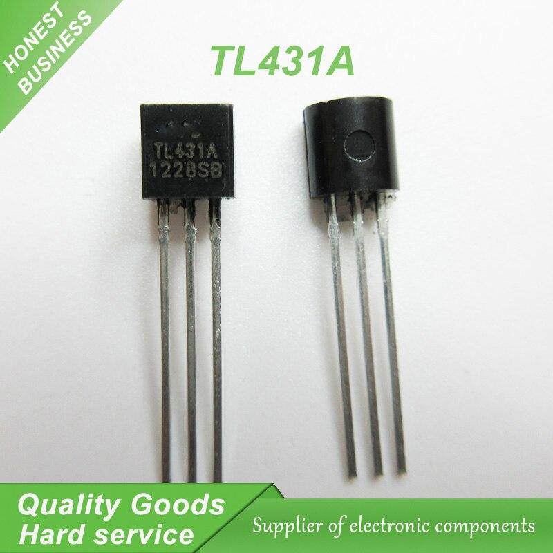 100pcs TL431A TL431 Voltage References 2.5-36V Prog Adjust TO-92 new original ...