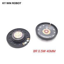 2pcs/lot New Ultra-thin speaker Doorbell horn Toy-car 8 ohms 0.5 watt 0.5W 8R Diameter 40MM 4CM thickness 9MM