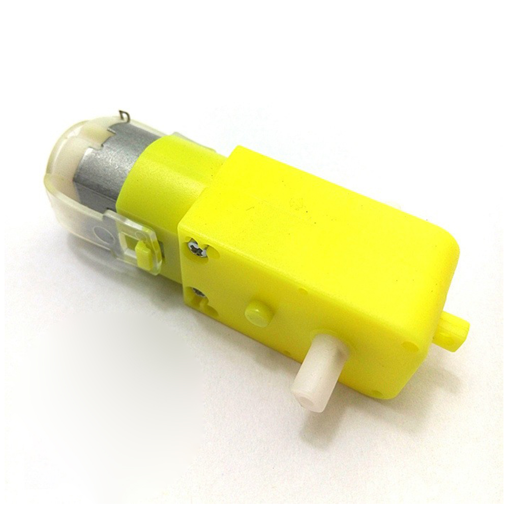 Yellow DC 3V - 6V Dual Axis Gear Motor TT Motor Reducer Motor For Arduino Smart Strong Magnetic With Anti-interference
