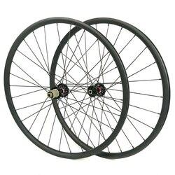 30mm x 25mm koła MTB węgla 29er wysokość XC 27.5er rower węglowe koła