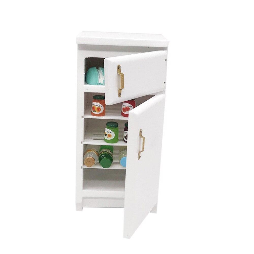 12cm DIY Simulation appliance Toy Toys for children Mini Wooden Dollhouse Furniture Refrigerator Miniature Living Room Toy  L41512cm DIY Simulation appliance Toy Toys for children Mini Wooden Dollhouse Furniture Refrigerator Miniature Living Room Toy  L415