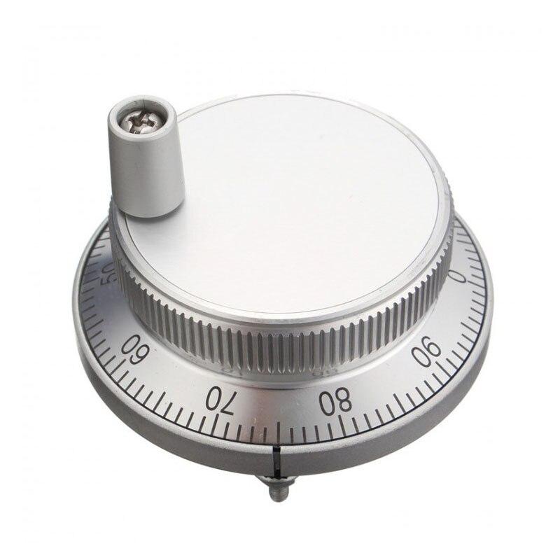 все цены на Cnc pulser handwheel handle kit 5V Manual Pulse Generator CNC Machine 60mm Rotary Encoder Electronic Resolution онлайн