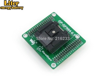QFN-64B-0.5-01 QFN64 MLF64 Enplas IC Test Socket Programming Adapter 0.5mm Pitch with PCB Pin Header