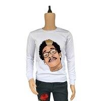 True Reveler hip hop rapper Wiz Khalifa hoodies men long sleeve funny rap tops autumn winter sweatshirts character blouse