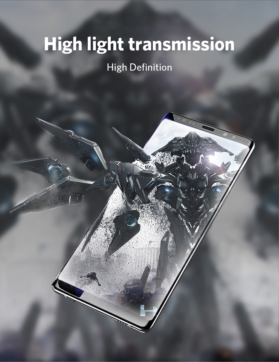 Benks Full Cover Tempered Glass 9H For Samsung Note9 0.3mm Thin Protector Screen Front Film (10)