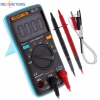 RICHMETERS RM102 Multimeter AC DC Ammeter 6000 Counts Voltmeter Ohm Frequency Diode With Temperature Test Function